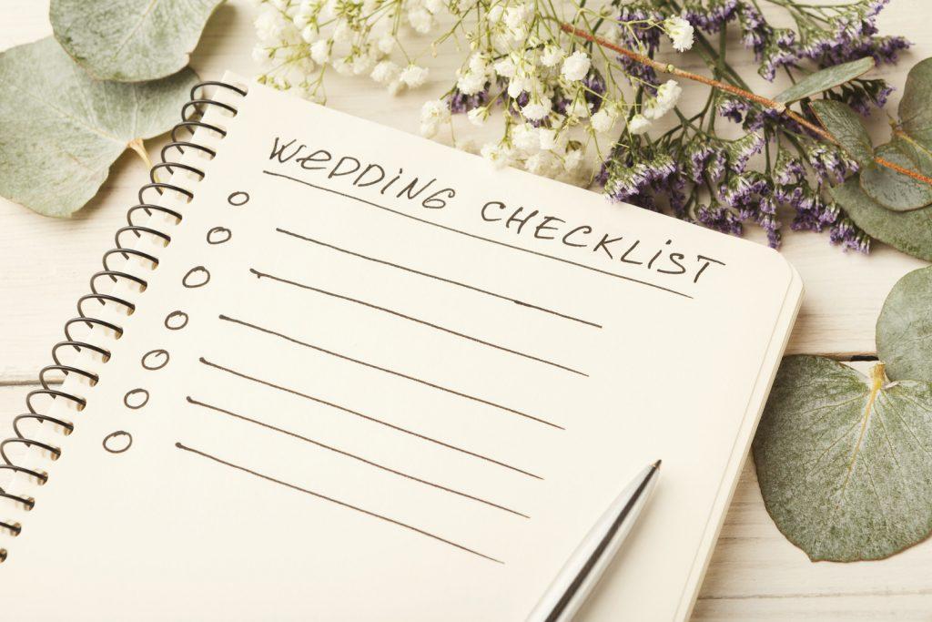 Wedding checklist - invitación de boda
